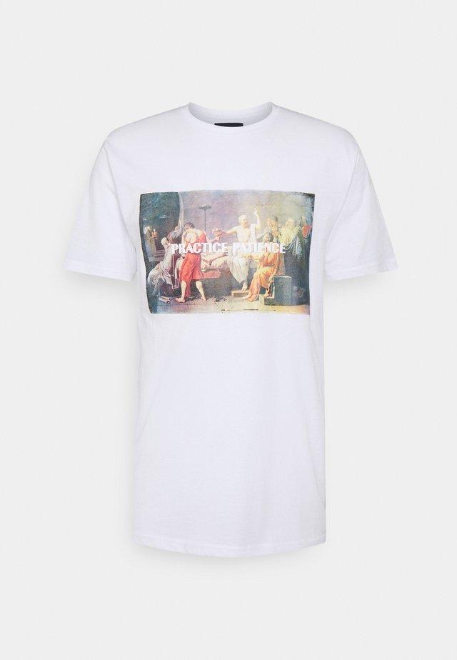 PHOTO TEE - Print T-shirt - white