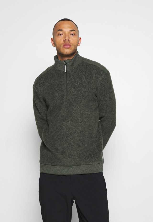 ALTO HALF ZIP - Sweat polaire - willow green