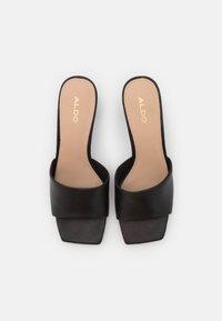 ALDO - VELALITH - Heeled mules - black - 5