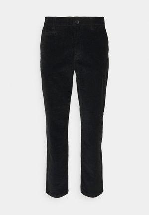 CHUCK REGULAR STRETCHED PANT - Pantalon classique - black jet