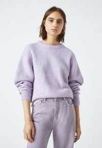 PULL&BEAR - Jumper - purple - 0