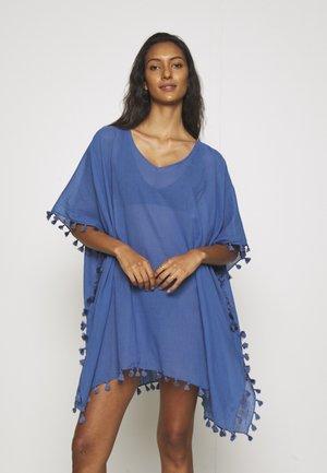 BEACH EDIT AMNESIA KAFTAN - Beach accessory - marina blue