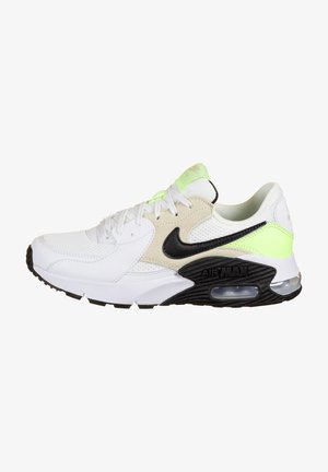 AIR MAX EXCEE - Trainers - white / black / barely volt / lite orewood brown