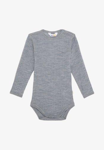LONG SLEEVES - Long sleeved top - light grey melange