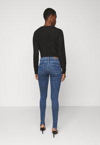 ONLY Tall - ONLPOWER LIFE PUSHUP - Jeans Skinny Fit - dark blue denim - 2