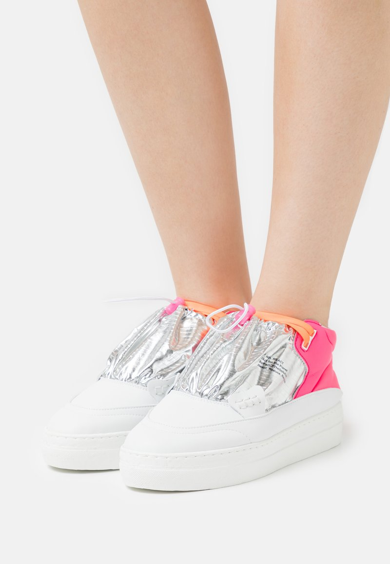 F_WD - Vysoké tenisky - pink