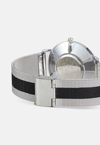 Pier One - SET - Klokke - silver-coloured/black - 1