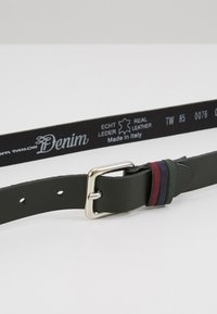 TOM TAILOR DENIM - Belt - darkgreen - 4