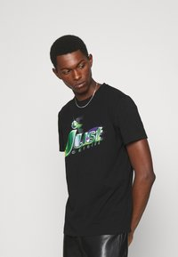 Just Cavalli - T-shirt con stampa - black - 3