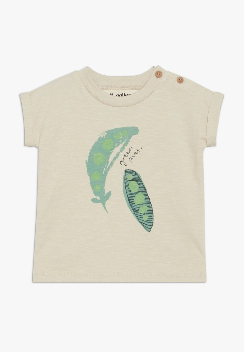 Soft Gallery - FREDERICK  - Print T-shirt - oyster grey