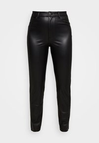 ONLY - ONLEMILY PANT - Trousers - black - 4