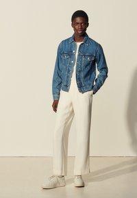sandro - USED - Denim jacket - blue vintage - 0