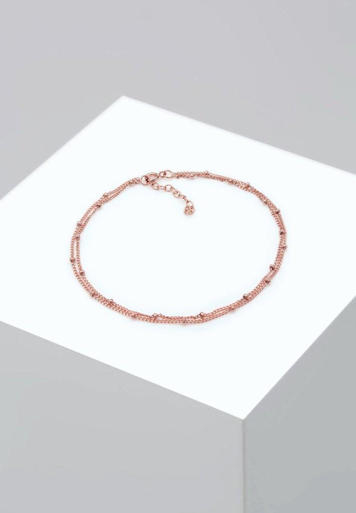 Elli - FUSSSCHMUCK KUGELKETTE  - Armband - rosegold