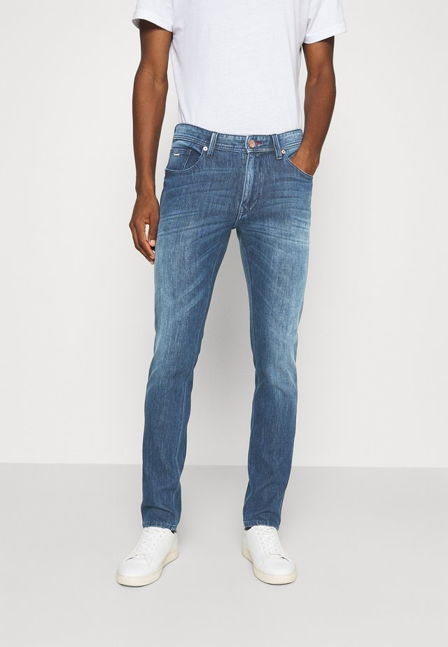 SAMPSON WAY STREACH - Jeans slim fit - medium blue