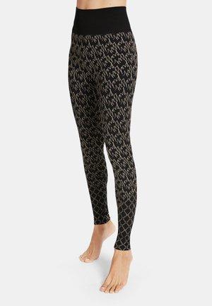 AURORA - Leggings - Trousers - desert/black