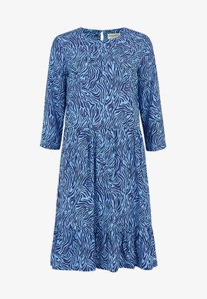 NORA POOLSIDE WAVES - Robe d'été - blue