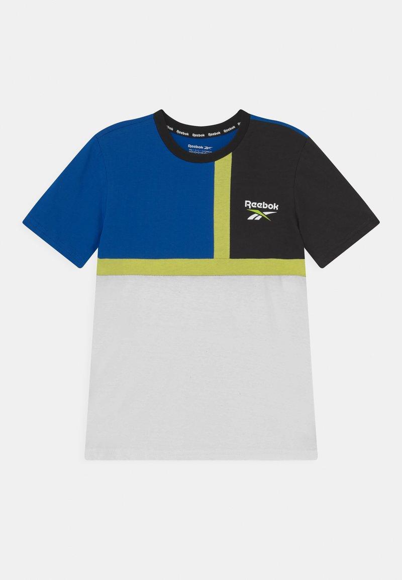 Reebok - COLOURBLOCK  - Print T-shirt - royal blue