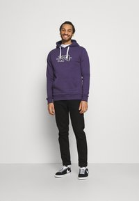 274 - APPLIQUE HOODIE - Sweater - purple - 1