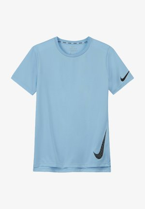 KINDER WILD CARD - Sports shirt - psychic blue