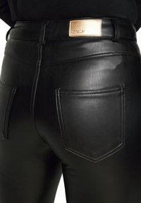 ONLY Petite - ONLHENRIETTA - Trousers - black - 3