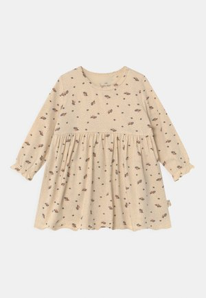 REYA DRESS - Jersey dress - beige