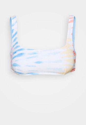 WIPEOUT CROP - Bikini top - multi