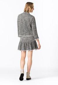 HALLHUBER - MIT VOLANT - Mini skirt - multicolor - 1