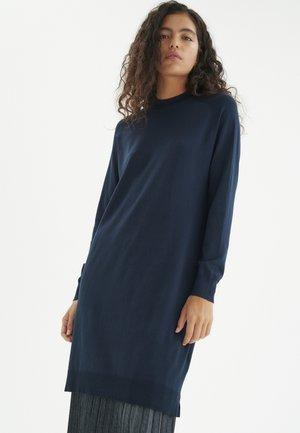 NOVELLA - Jumper dress - marine blue