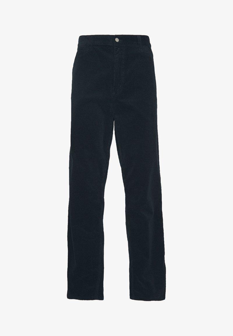 Carhartt WIP - SIMPLE PANT COVENTRY - Trousers - dark navy