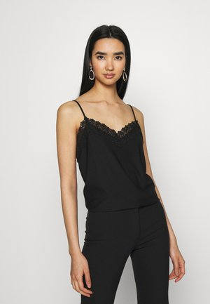 VMMILLA SINGLET - Top - black