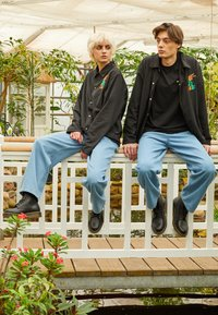 AS IF Clothing - CODA JACKET UNISEX - Light jacket - black - 1
