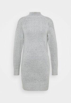 LONGLINE PONTELLE HIGH NECK YOKE - Jumper - light grey