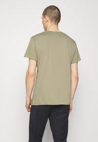 Filippa K - ROLL NECK TEE - Basic T-shirt - sage green - 2