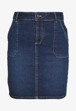 ONLANNEK WORKER SKIRT - Falda vaquera - medium blue denim