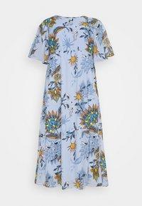 JUNAROSE - by VERO MODA - JRSHIRIAMIA SLEEVE DRESS  - Korte jurk - zen blue - 6