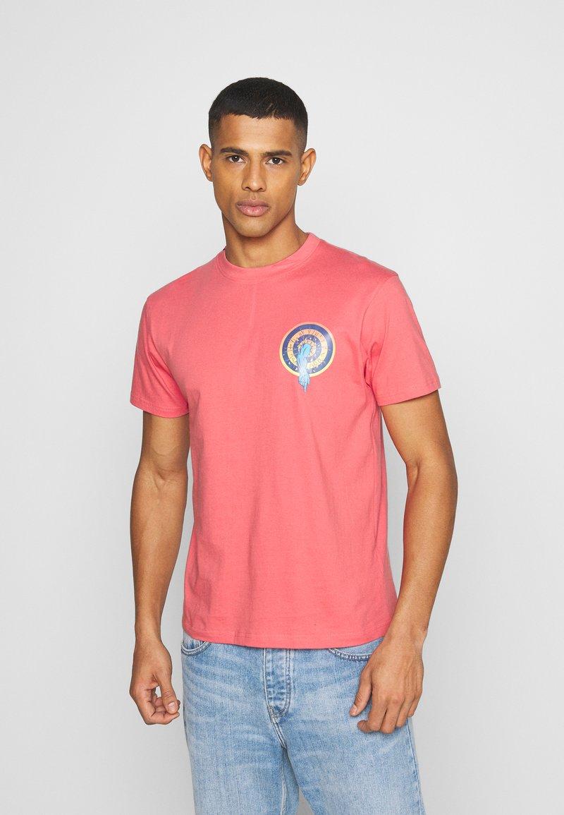 Santa Cruz - SANTA CRUZ ROSKOPP DOT UNISEX - Print T-shirt - washed red