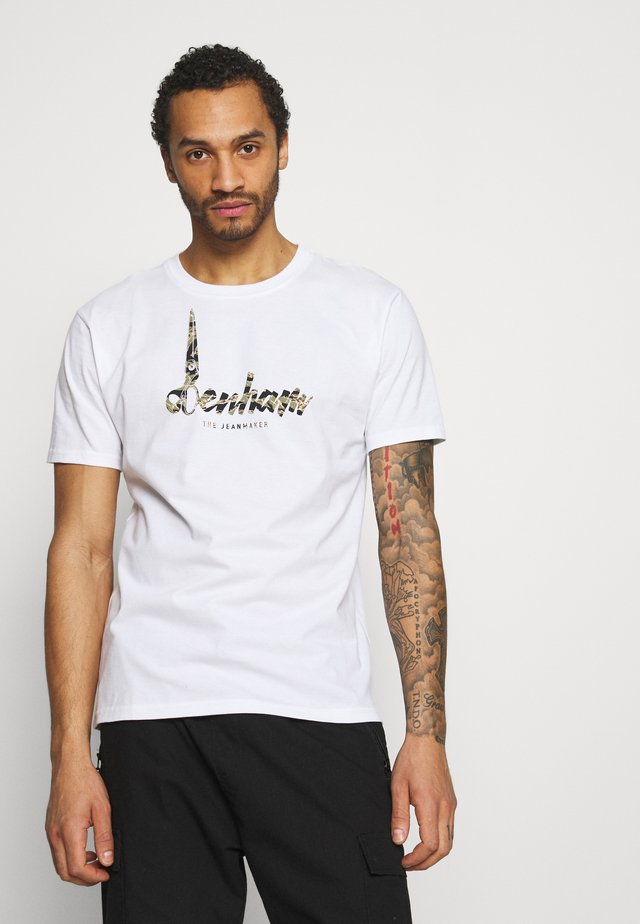 HEATON TEE - T-shirts print - white
