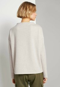 TOM TAILOR DENIM - Sweatshirt - creme beige melange - 2