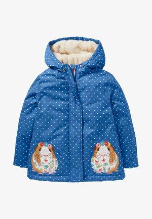 ANORAK MIT SHERPA-FUTTER - Winter jacket - elisabethanisches blau, meerschweinchen