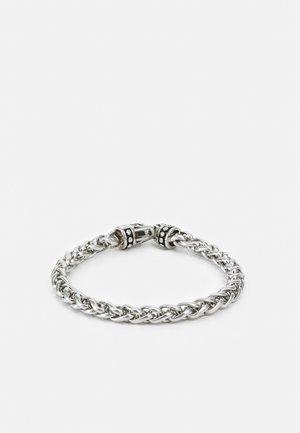 SQUARE CHAIN BRACELET UNISEX - Bracelet - silver-coloured
