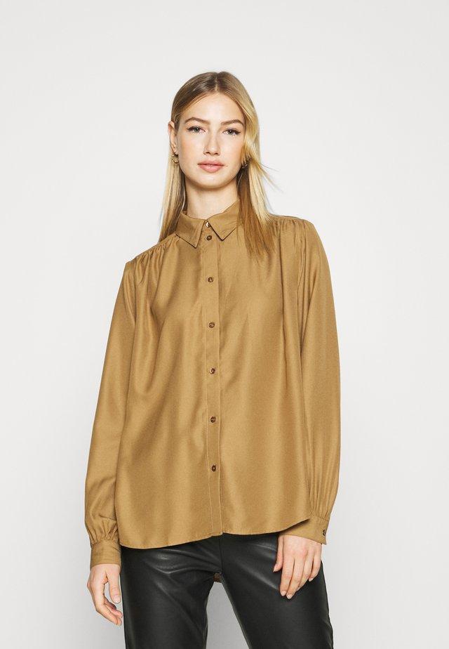 ONLENVY - Button-down blouse - ermine