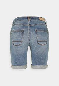 Esprit - JOG - Denim shorts - blue light wash - 1