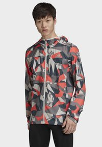 adidas Performance - OWN THE RUN CAMO JACKET - Outdoor jacket - grey - 0