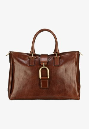 VIRGINIA  - Handbag - marrone/oro