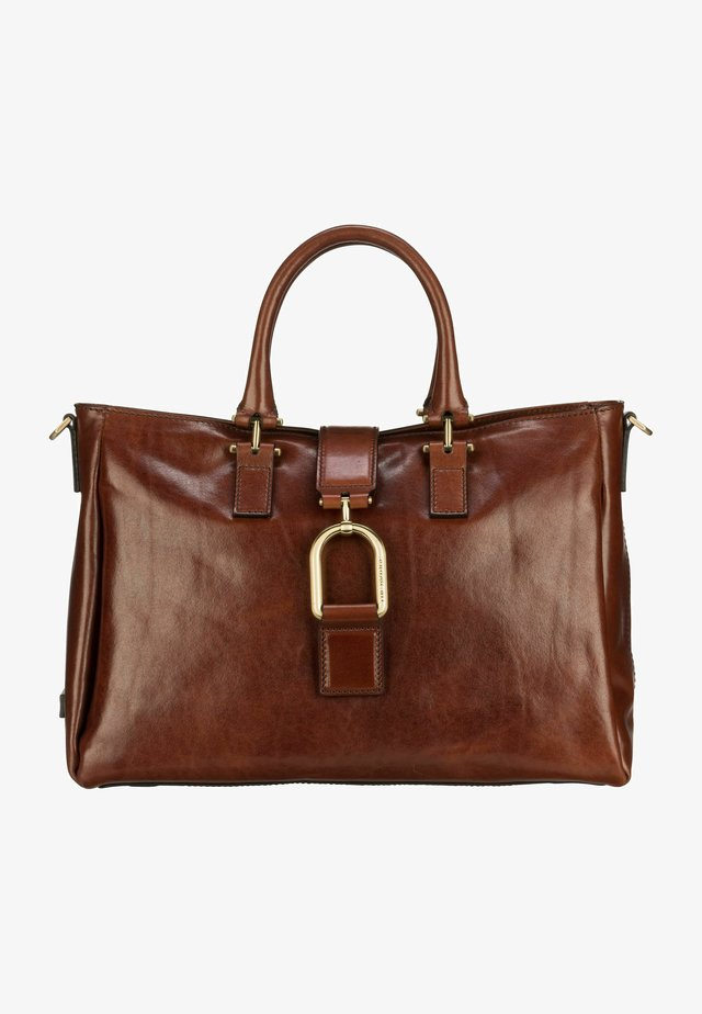 VIRGINIA  - Handtasche - marrone/oro