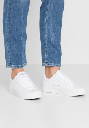 SLFSIMONE TRAINER  - Baskets basses - white