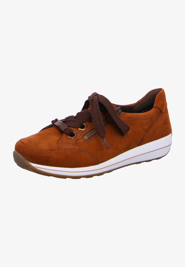 OSAKA - Sneakers laag - cognac