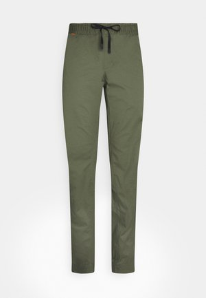 CAMIE  - Spodnie materiałowe - iguana