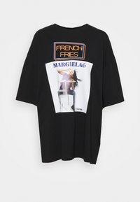 MM6 Maison Margiela - Triko spotiskem - black - 4