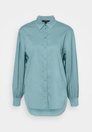 BLOUSE - Košile - dark turquoise